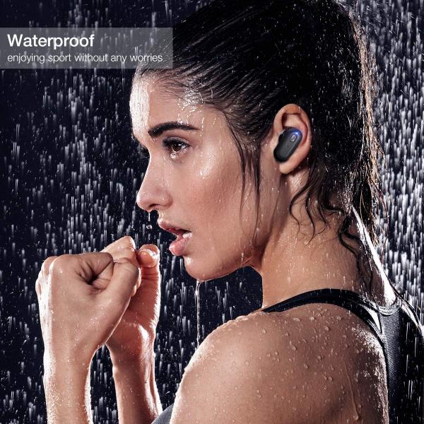 Casti TWS Bluetooth 5.0  True Wireless Blitzwolf BW-FYE7, Dual Dynamic Driver, Bas puternic stereo - Resigilat [7]