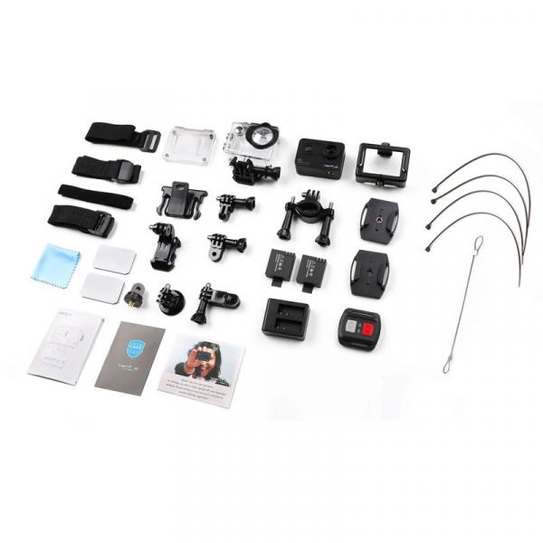 Camera video sport VanTop Moment 5C, 4K/60fps, Senzor Sony IMX078,  Wi-Fi, Stabilizator imagine, Touch Screen, 2 Acumulatori [6]