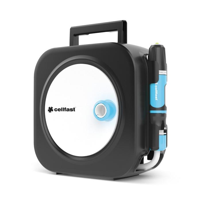 Furtun cu tambur Cellfast  ERGO, 10m, accesorii incluse [0]