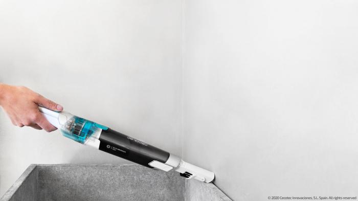 Aspirator de mana portabil CecotecConga Rockstar Micro 6000, 2 moduri Eco/Turbo, Ciclonic, Baterie detasabila Li-Ion, 2000 mAh, 90W [1]