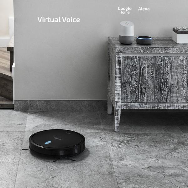 Aspirator robot 4 in 1 Conga 1090 Connected, Control aplicatie, 1400Pa, autonomie 160 minute, rezervor lichide si praf, functie mop - Resigilat [6]