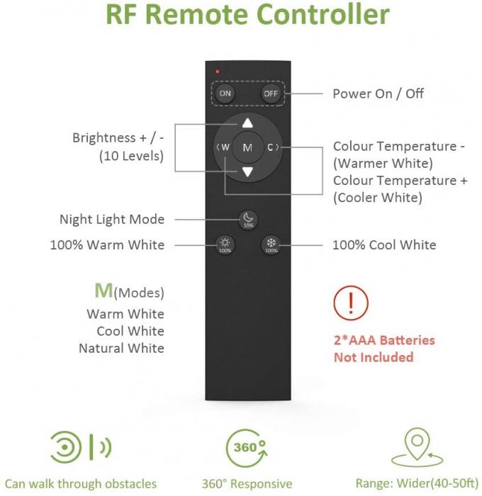 Banda LED Novostella 12m, 120 leduri/m, Dimmer, Culoare lumina reglabila 3000k - 6000K, Telecomanda [6]