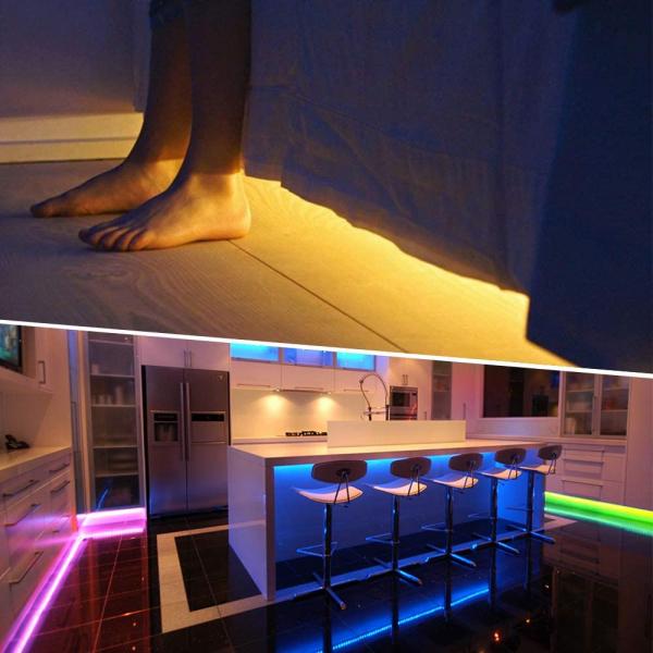 Banda LED RGB Novostela 16m, 480 Leduri, Telecomanda RF cu 44 butoane 3