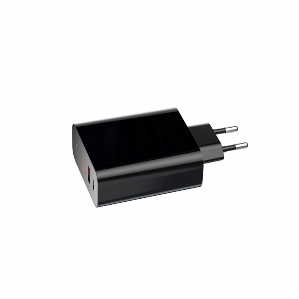 Baseus Incarcatorperete PPS QC USB + PD 45W Negru 1