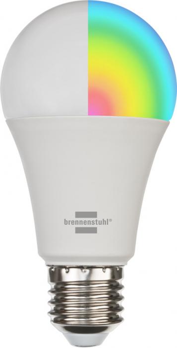 Bec LED RGB Smart Brennenstuhl SB 800, E27, Control din aplicatie [0]