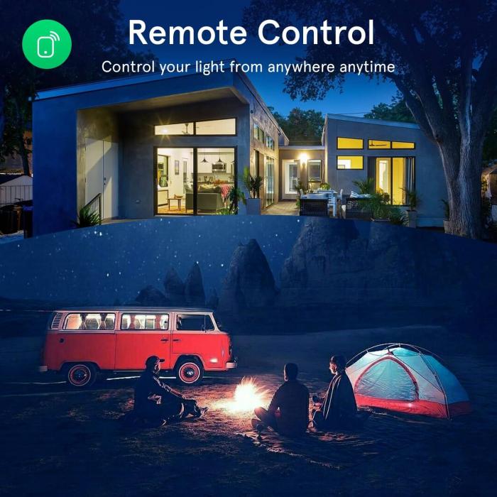 Bec LED RGB Smart NOUS P8, GU10, Control din aplicatie [6]
