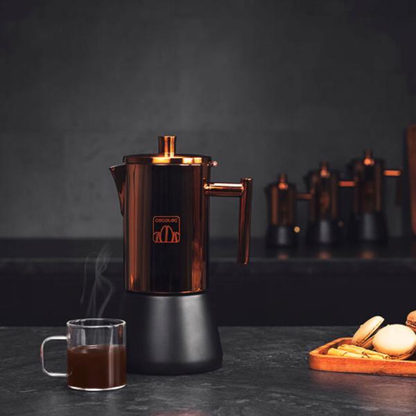 Cafetiera Cecotec Moking 600, 300 ml, 6 cani de cafea, inductie [1]