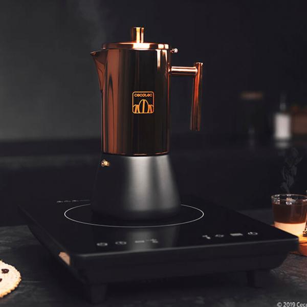 Cafetiera Cecotec Moking 600, 300 ml, 6 cani de cafea, inductie [4]