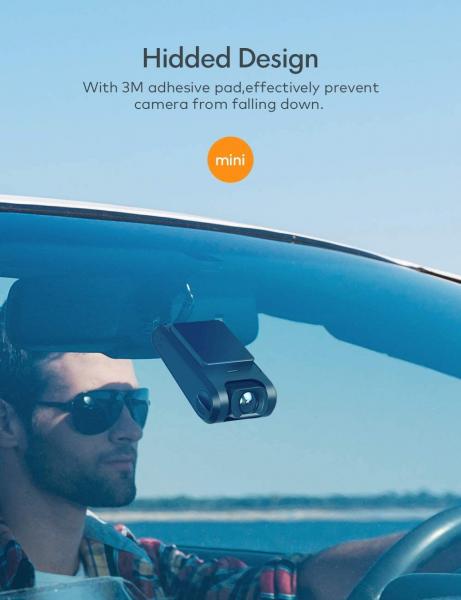 Camera auto DVR  Dubla Apeman C550, Full HD,  Bord si Spate, Unghi 170 grade, Detector miscare, WDR, G-Sensor, Mod parcare, Filmare in bucla [5]