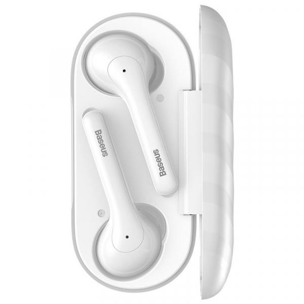 Casti audio In-Ear Baseus W07, True Wireless, Bluetooth 5.0,  TWS, alb [1]