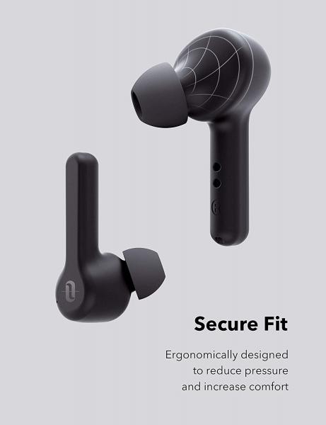 Casti audio In-Ear Taotronics TT-BH1001, True Wireless, Bluetooth 5.0, TWS  USB-C 6