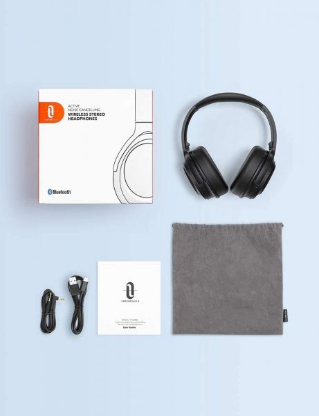 Casti audio TaoTronics TT-BH085, Active Noise canceling, Bluetooth 5.0, Bas puternic,True Wireless, Microfon CVC 8.0 5