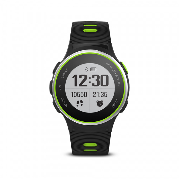 Ceas Forever Smart Watch GPS SW-600 black silver and green 2