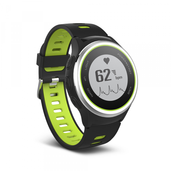 Ceas Forever Smart Watch GPS SW-600 black silver and green 3