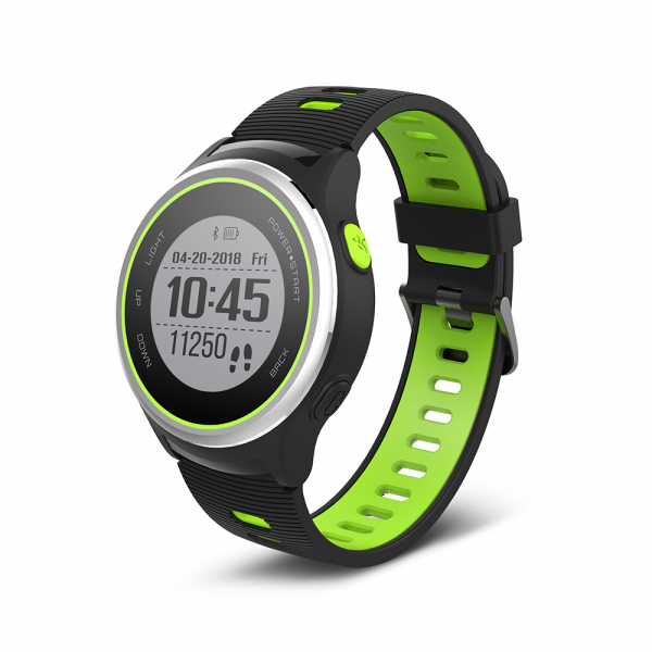 Ceas Forever Smart Watch GPS SW-600 black silver and green 0