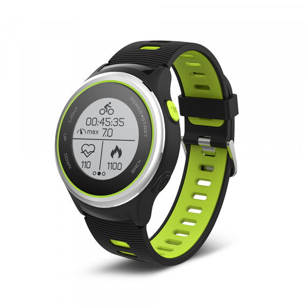 Ceas Forever Smart Watch GPS SW-600 black silver and green 1