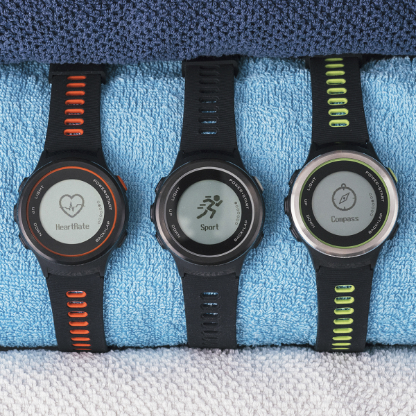 Ceas Forever Smart Watch GPS SW-600 black silver and green 9