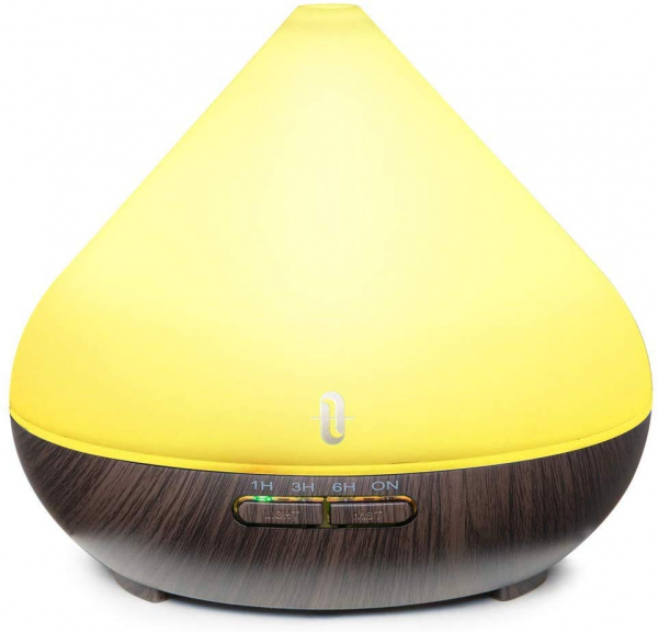 Difuzor aroma cu Ultrasunete TaoTronics TT-AD002, 300ml, 13W, LED 7 culori, oprire automata [0]