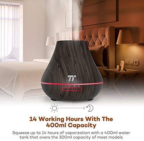Difuzor Aroma terapie TaoTronics TT-AD004, 400ml, 13W, 14 ore 3
