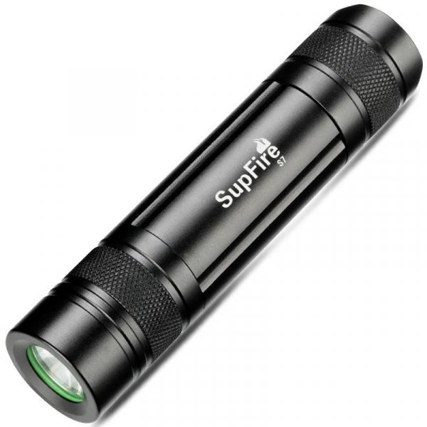 Lanterna Supfire S7, USB, 300lm, 100m 4