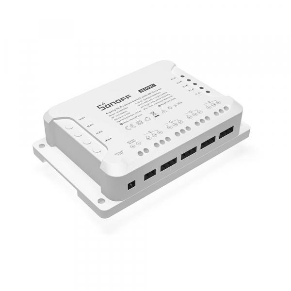 Releu Wireless Sonoff 4CHPROR3, 4 canale, Alexa / Google Home 1