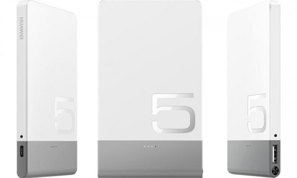 Acumulator extern Huawei AP006L, 5000 mAh, Alb 1