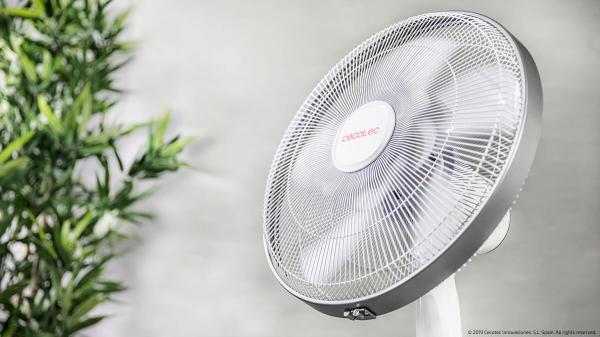 Ventilator Cecotec EnergySilence 1010 Extreme Connected, Silentios, Telecomanda, Temporizator - Alb [2]
