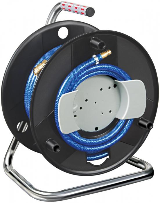 Furtun Aer comprimat compresor Brennenstuhl cu tambur, 20m, Ø 6/12mm, 15 bari 0