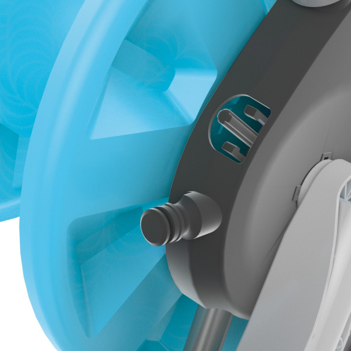 "Furtun cu tambur Cellfast COMPACT, furtun gradina 1/2 ""20 m, accesorii incluse [6]"
