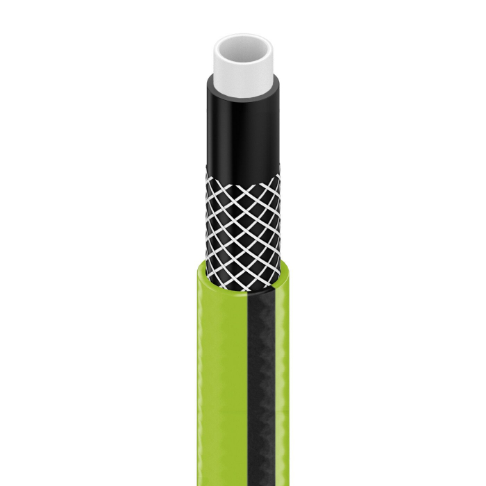 "Furtun pentru gradina Cellfast QUATTRO  cu 4 straturi, 1/2"",  Armat, 25m, protectie UV 1"