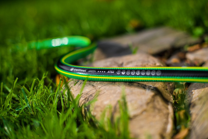 "Furtun pentru gradina Cellfast GREEN cu 5 straturi, 3/4"", Armat, 25m, protectie UV, antirasucire 3"
