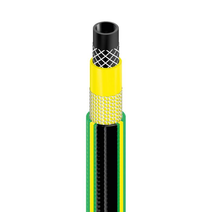 "Furtun pentru gradina Cellfast GREEN cu 5 straturi, 3/4"", Armat, 25m, protectie UV, antirasucire 2"
