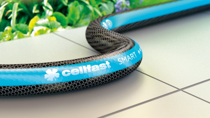 """Furtun pentru gradina Cellfast SMART cu 3 straturi, 3/4"""", Armat, 25m, protectie UV, antirasucire 1"""