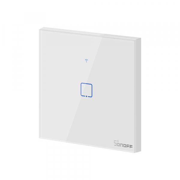 Intrerupator Smart  cu Touch  Sonoff T0 EU TX , WiFi, 1 canal [1]
