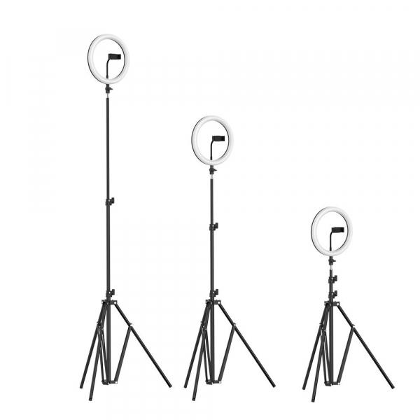 Lampa Circulara LED BlitzWolf BW-SL2 Make up Profesionala, Ring Light 120 Leduri cu Lumina Rece/Calda 9