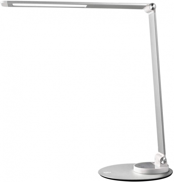 Lampa de birou cu LED TaoTronics TT-DL66, incarcare USB, 6 niveluri de luminozitate - Silver 0