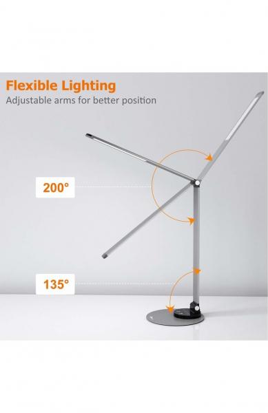 Lampa de birou cu LED TaoTronics TT-DL66, incarcare USB, 6 niveluri de luminozitate - Black 2