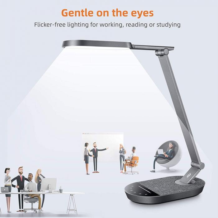 Lampa de birou LED TaoTronics TT-DL056, control touch, 5 moduri, 6 niveluri de luminozitate, 12W [7]