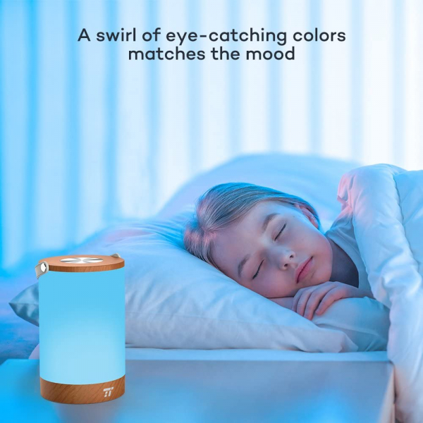 Lampa led reincarcabila TaoTronics TT-DL23 control Touch, 7 culori de lumina 7