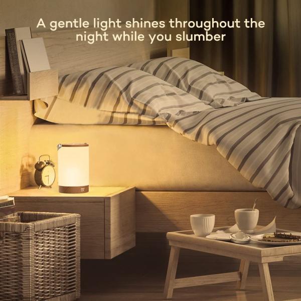 Lampa led reincarcabila TaoTronics TT-DL23 control Touch, 7 culori de lumina 9