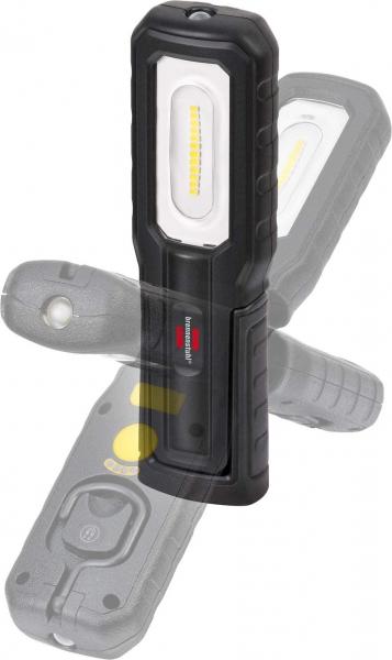 Lanterna de Lucru LED Brennenstuhl HL 700 A Multifunctionala, 700 Lumeni, Reincarcabila, Sistem de agatare, Magneti puternici, functionare 10 ore, IP54 [2]
