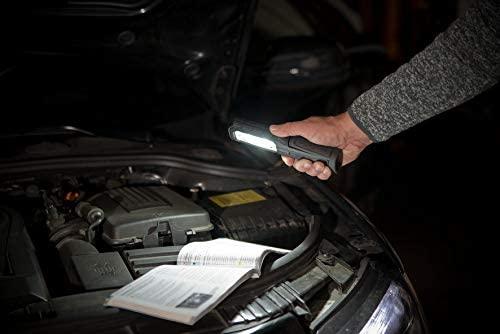 Lanterna de Lucru LED Brennenstuhl HL 700 A Multifunctionala, 700 Lumeni, Reincarcabila, Sistem de agatare, Magneti puternici, functionare 10 ore, IP54 [4]