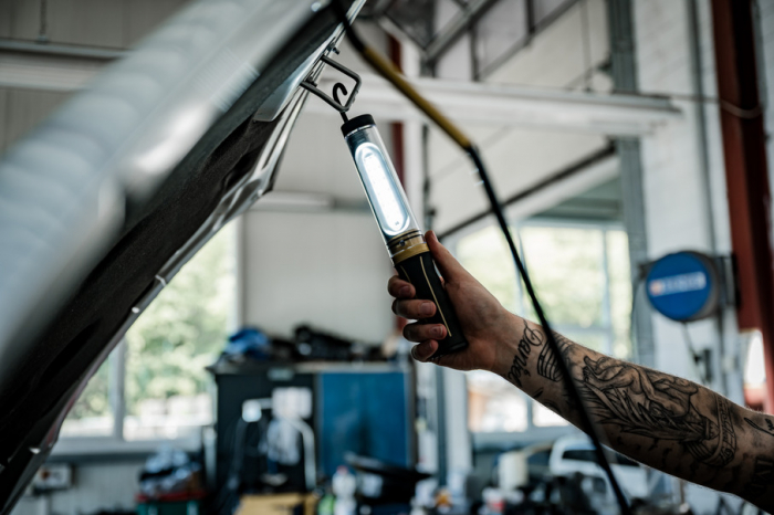 Lanterna de Lucru LED Brennenstuhl WL 500 A,520 Lumeni, SMD-LED, IP54, Reincarcabila, Lanterna de inspectie 3