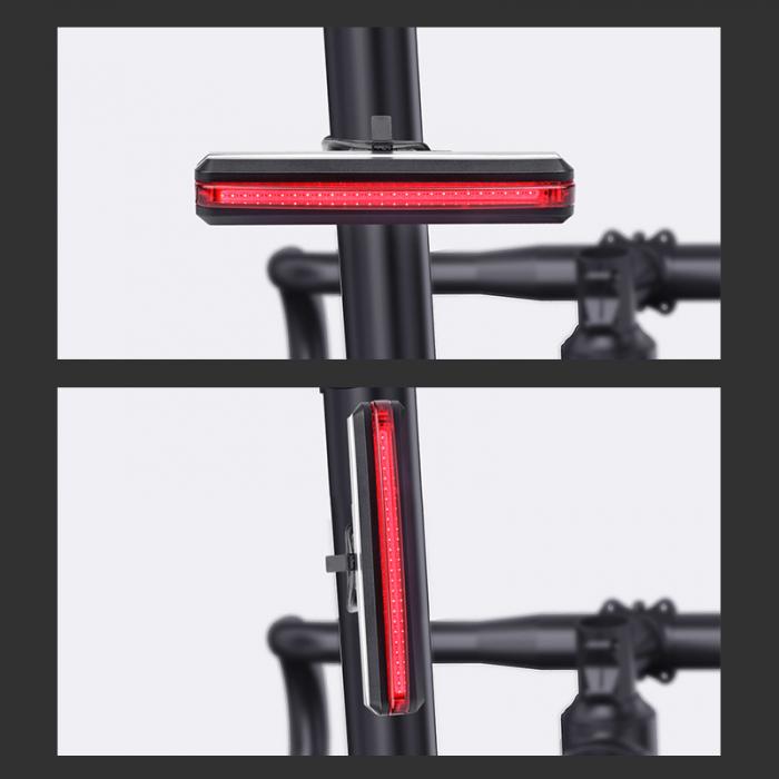 Stop LED pentru bicicleta Supfire BL07, reincarcabil USB, 6 moduri luminare [3]