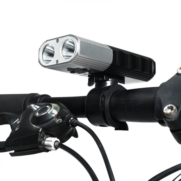 Lanterna LED pentru bicicleta Supfire BL06, 1400 lumeni, 200m, acumulator 4000 mAh, USB [2]