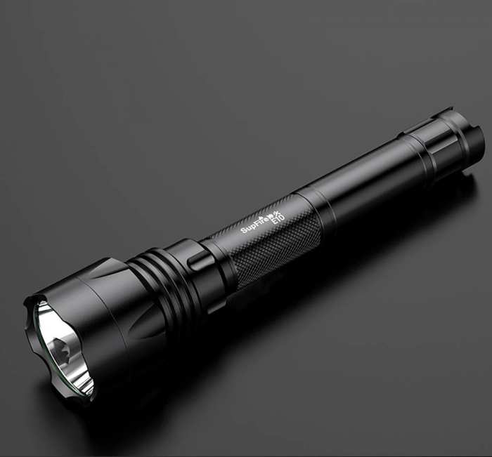 Lanterna LED SupFire E10, LED, 10W, 900 lm, 2300 mAh, IPX7, 5 moduri, Negru [6]