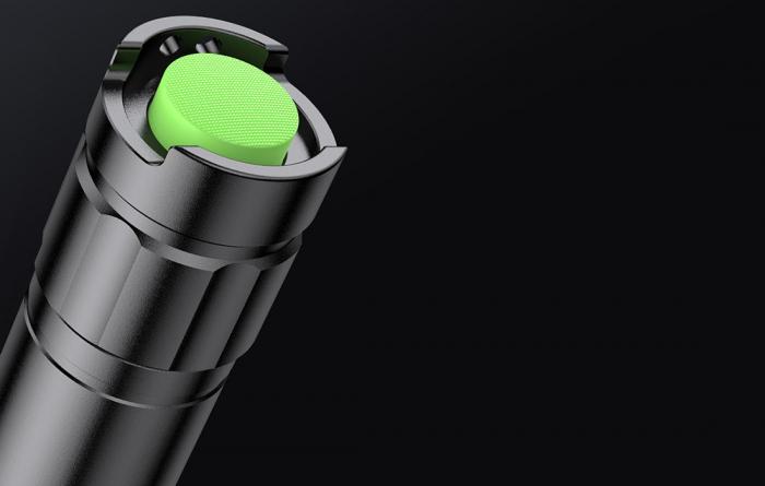 Lanterna LED SupFire E10, LED, 10W, 900 lm, 2300 mAh, IPX7, 5 moduri, Negru [2]