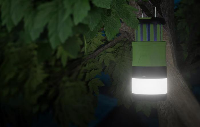 Lanterna LED SupFire T15, Pentru Camping, 500 lm, anti insecte,  incarcare USB, PowerBank , 5 moduri [6]