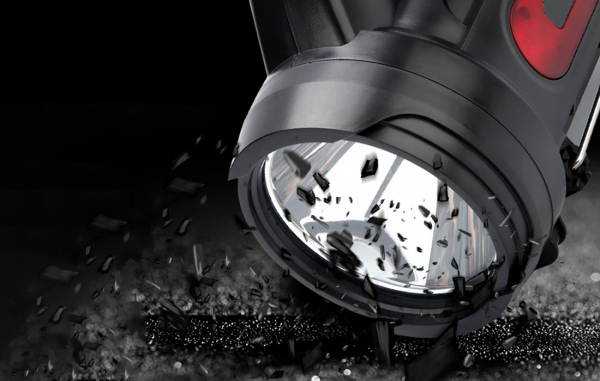 Lanterna LED Supfire M9-E, USB, 775lm, 473m, PowerBank, incarcare USB, 6000mAh, lumina rosie [4]