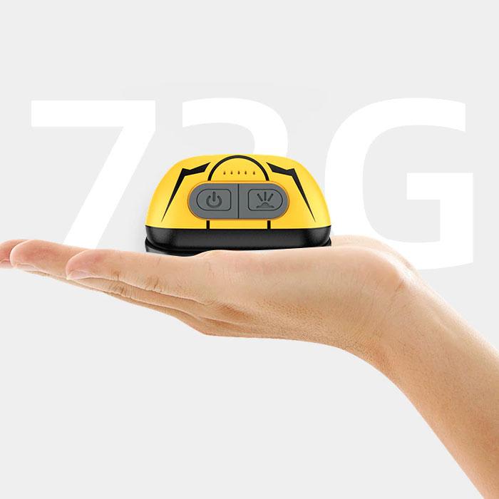 Lanterna LED pentru cap Supfire HL05-S, USB, 500lm, incarcare USB, control miscare mana [1]